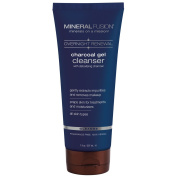 Mineral Fusion Overnight Renewal Charcoal Gel Cleanser, 210ml