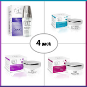 180 Cosmetics The Ultimate Skin Care Kit, Enjoy Younger Looking Skin With This Facial Care Kit for Immediate & Long Term Results. Day Cream, Night Cream and Hyaluronic Acid Serum