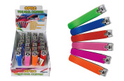 Diamond Visions Max Force 11-1317 Optic Toe Nail Clipper with Silicone Grip Multipack in Assorted Colours