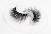Flipped Lashes Lily Handmade 3D luxurious 100% Real Mink Natural Long False Lashes Reusable Makeup Crisscross Fake Eyelash Strips