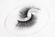 Flipped Lashes Camellia 3D Mink Fur Fake Eyelashes 100% Handmade Reusable Luxury Makeup1 Pair Pack