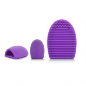 OraCorp Egg Shell Cosmetic Brush Cleaner - Purple