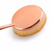 Oval Toothbrush Makeup and Foundation Brush