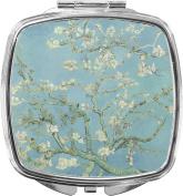 Apple Blossoms (Van Gogh) Compact Makeup Mirror