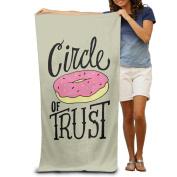 Circle Of Trust Donuts Men's Towels Funny