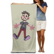 Cartoon Cute Boy Doll Men's Towels Funny