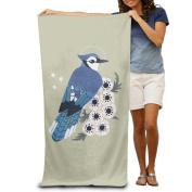 Cartoon Bird Flowers Towels Cool Oversized Beach Towels For Adults Beach Towel For Women Beach Towel For Men