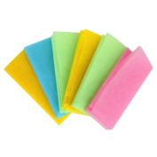 Fang Nylon Bath Shower Washcloths for Body Cleaning Washing Scrubbing