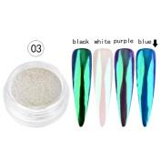 Leewa Sexy Nail Mirror Powder Glitter Chrome Powder Art Decoration - Approx 0.2g Capacity