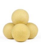 "Wool Dryer Balls 4 Pack : 3.5"" Diameter"