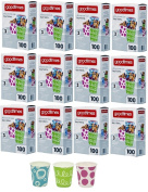 Goodtimes 150ml All-Purpose Bathroom/Kitchen Paper Cold Cups,100ct-Assorted Designs