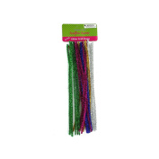 123-Wholesale - Set of 36 Glitter Craft Stems - Crafts Craft Pipe Cleaners