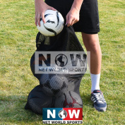 Soccer Ball Carry Bag - Easily Transport Up To 10 Balls From The Locker Rooms To The Practise Pitches [Net World Sports]