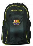 FC Barcelona Soccer Backpack w/ ball pocket for Soccer Ball, Basketball, Volleyball
