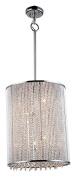 Bromi Design 9 B8548-9 Crystalline 9 Light Chandelier, Chrome
