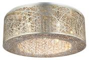 Bromi Design B8103G Royal 9 Light Pendant, Silver/Gold