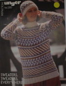 Sweaters, Sweaters, Everywhere Craft Pattern