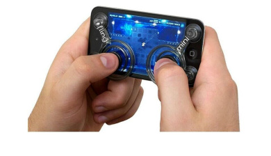 Joystick for phone pad pod touch