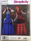 Simplicity S0676 Misses Cosplay Corset Fantasy Costume Sewing Pattern Sizes R5