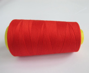 3000 Yards Red Reel 40s 2 402 Tex 27 Tickets Size 120 Spools Polyester PP SP Sewing Thread Hand Machine industrial Embroidery Yarn Quilting Serger Clothes