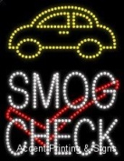 Smog Cheque LED Sign