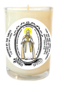 St Frederick of Miracles for Deafness 240ml Scented Soy Glass Prayer Candle