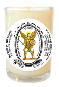 Saint Raphael Archangel Patron of Healing 240ml Scented Soy Glass Prayer Candle