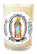 Saint David Patron of Vegans 240ml Scented Soy Glass Prayer Candle