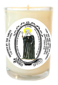 St Flora for Victims of Betrayal 240ml Scented Soy Glass Prayer Candle