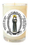 St Hildegard for Authors & Composers 240ml Scented Soy Glass Prayer Candle