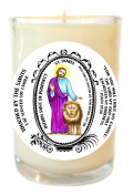 St Daniel Patron of Prophecy 240ml Scented Soy Glass Prayer Candle