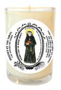St Faustina Patron of Divine Mercy 240ml Scented Soy Glass Prayer Candle