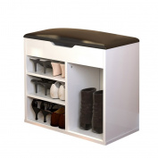 ALUK- European Locker For Shoe Stool Modern Simple Storage Stool Storage Hall Shoe (Length 60cm Depth 30cm Height 54)