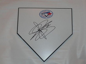 Drew Storen Signed Home Plate Toronto Blue Jays Autographed Exact Proof - MLB Game Used Bases