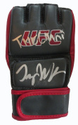 Tyron Woodley Autographed Grey UFC Training Fight Glove W/PROOF, Picture of Tyron Signing For Us, Ultimate Fighting Championship, UFC, Champion, Strikeforce