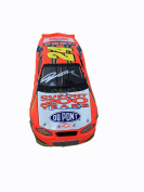 Jeff Gordon 2002 DuPont Signed 1:24 200 Year Anniversary Diecast Car - JSA Certified - Autographed Diecast Cars