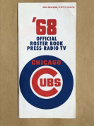 CHICAGO CUBS MLB BASEBALL MEDIA GUIDE 1968 Mid-Season EX/NM