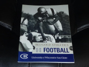 2005 UNIVERSITY OF WISCONSIN EAU CLAIRE COLLEGE FOOTBALL MEDIA GUIDE EX BOX 41