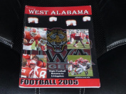 2005 WEST ALABAMA COLLEGE FOOTBALL MEDIA GUIDE EX BOX 41