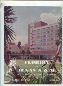 Florida Vs Texas A. M. Oct.13,1962 Offical Souvenir Football Programme MBX103