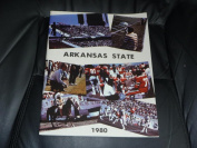 1980 ARKANSAS STATE COLLEGE FOOTBALL MEDIA GUIDE EX-MINT BOX 40