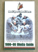 PHOENIX COYOTES NHL HOCKEY MEDIA GUIDE - 1998 1999 - NEAR MINT
