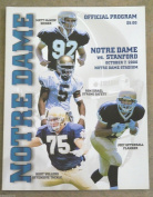NOTRE DAME STANFORD COLLEGE FOOTBALL programme - 2000 - MINT