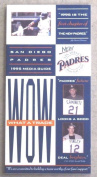 1995 SAN DIEGO PADRES MEDIA GUIDE