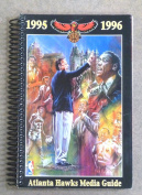 ATLANTA HAWKS NBA BASKETBALL MEDIA GUIDE - 1995 1996 - NEAR MINT