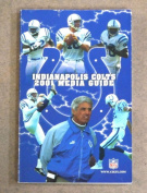 INDIANPOLIS COLTS NFL FOOTBALL MEDIA GUIDE - 2001