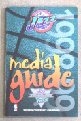 UTAH JAZZ NBA BASKETBALL MEDIA GUIDE - 1998 1999 - NEAR MINT