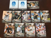 2017 Topps Bunt w INSERTS Master Team Set Chicago White Sox