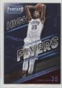 Kevin Durant #39/99 (Basketball Card) 2014-15 Panini Threads - High Flyers - Century Proof Red #13
