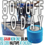Active Intelligence Kinesiology Tape (w/ Pain Relief Formula) - 5.1cm x 4.9m -
